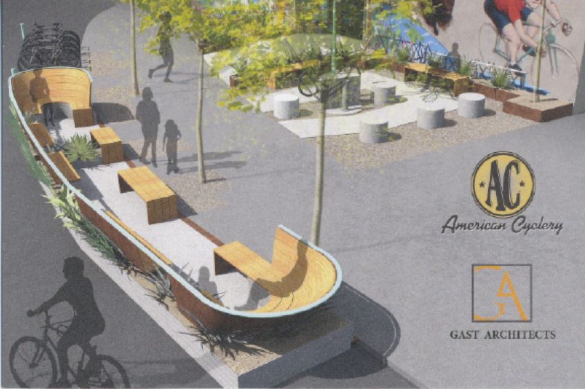 american cyclery parklet image